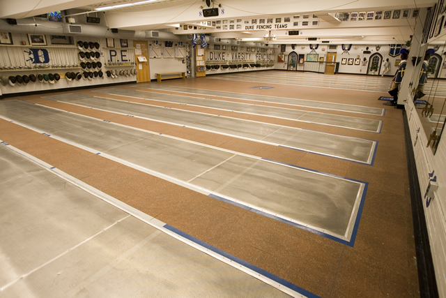 duke fencing   facilities